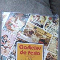 Coleccionismo de carteles: CARPETA CARTELES DE FERIA DE MAYO DE CÓRDOBA, RÉPLICA. Lote 166664634