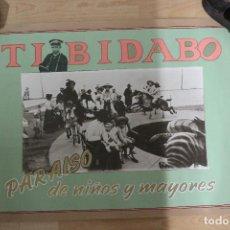 Coleccionismo de carteles: TIBIDABO PÓSTER DE LOS AÑOS 60, REPRODUCCIÓN DEL ORIGINAL, 57,50X41,50 CM. Lote 166674242