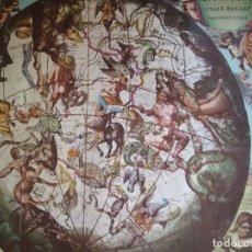 Coleccionismo de carteles: REPRODUCCION HEMISFERIO LAMINA RIUM STEL, SIGLO XVII - TAMAÑO 63X74. Lote 181988673