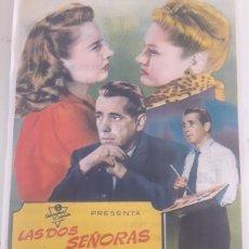 Coleccionismo de carteles: CARTEL DE PELÍCULA CINE LAS DOS SEÑORAS CARROLL. Lote 182573888