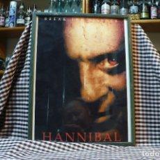 Coleccionismo de carteles: BREAK THE SILENCE, HANNIBAL, CARTEL CON MARCO Y CRISTAL, 42 CM X 32 CM. Lote 182926447