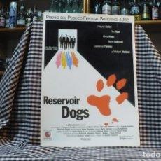 Coleccionismo de carteles: DE LA PELICULA,RESERVOIR DOGS, 42 CM X 30 CM.. Lote 182939563