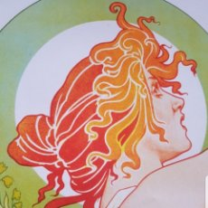 Coleccionismo de carteles: CARTEL PÓSTER PUBLICIDAD ALPHONSE MUCHA ART DECO ART NOUVEAU DE ABSINTHE ROBETTE - PRIVAT LIVEMONT.. Lote 183204056