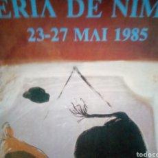 Coleccionismo de carteles: CARTEL NIMES 1985. Lote 184093877