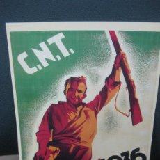 Coleccionismo de carteles: C.N.T. 19 JULIO 1936. CARTELLS CATALANS DE LA GUERRA CIVIL. Lote 184174228