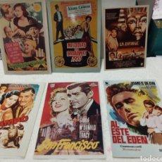 Coleccionismo de carteles: FOTOGRAFÍA FOLLETOS CINE. Lote 186200875