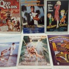 Coleccionismo de carteles: FOTOGRAFÍA PROGRAMAS DE CINE. Lote 186201156