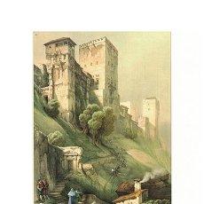 Collezionismo di affissi: LITOGRAFIA (REPRODUCCION) GRANADA - LA ALHAMBRA. TORRE DE COMARES Nº 36 - REPLIT-038. Lote 188550946