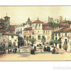 Collectionnisme d'affiches: LITOGRAFIA (REPRODUCCION) GRANADA - PLAZA DEL CAMPILLO Nº 31 - REPLIT-044. Lote 188553455