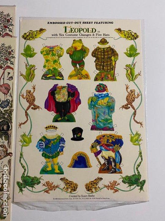 Coleccionismo de carteles: ANTIQUE PAPER CUTOUT DOLL & CLOTHES , RECORTABLES , SHACKMAN . 1977 . - Foto 3 - 188646938