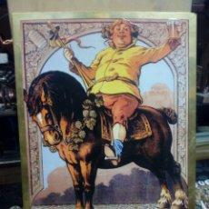 Coleccionismo de carteles: CARTEL PUBLICIDAD DE LA CERVEZA MORT SUBITE BELGIAN BEER FACTORY - BELGICA. Lote 188731582