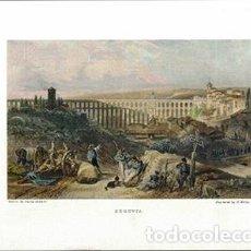 Collectionnisme d'affiches: LITOGRAFIA (REPRODUCCION) SEGOVIA. - REPLIT-069. Lote 189547772