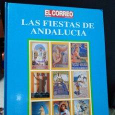 Coleccionismo de carteles: LAS FIESTAS DE ANDALUCÍA CARTELES ANTIGUOS. Lote 191307375