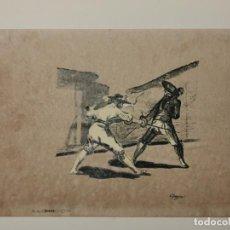 Colecionismo de cartazes: REPRODUCCIÓN FRANCISCO DE GOYA - REPROD. AUTORIZADA - 46 X 32 CM. Lote 192139018