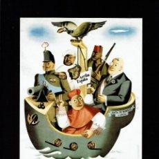 Coleccionismo de carteles: LOS NACIONALES - MINISTERIO DE PROPAGANDA (29X21 CTMS.). Lote 192483426