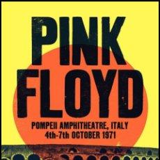 Coleccionismo de carteles: PINK FLOYD - POMPEII CONCERT, ITALY 4 - 7 OCTOBER 1971 - CARTEL CONCIERTO 30X40. Lote 194752547