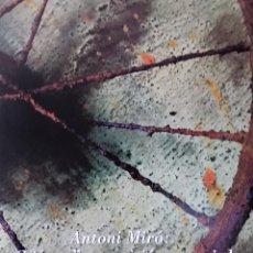 Coleccionismo de carteles: ANTONI MIRÓ VIVACE UNA VISIÓ ECOSOSOCIAL CARTEL ORIGINAL CENTRE EXPOSICIONS SANT MIQUEL CASTELLÓ 98. Lote 194784402