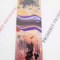 Coleccionismo de carteles: ANTONI MIRÓ PROHIBIT PROHIBIR CARTEL ORIGINAL ANTOLÓGICA 1960-99 PIA ALMOINA BARCELONA 1999 47,5X66,. Lote 194873545