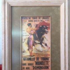Coleccionismo de carteles: REPRODUCCIÓN CARTEL TAURINO. Lote 195072206