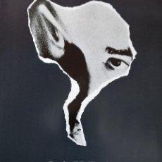 Coleccionismo de carteles: ANTONIO SAURA OBRA GRÁFICA CARTEL ORIGINAL EXPOS MUSEO CASA DE LA MONEDA MADRID 2000 SERIGRAFÍA MOI . Lote 195280745