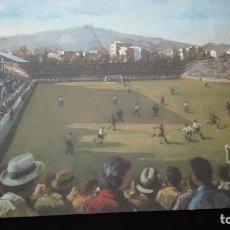Coleccionismo de carteles: LAS OBRAS DE ARTE DEL F.C. BARCELONA (ANTONI VIDAL). Lote 196095085