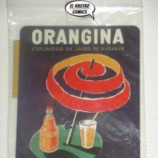 Collectionnisme d'affiches: ORANGINA ESPUMOSO ZUMO DE NARANJA, DR TRIGO, VALENCIA, PRECINTADO, CHAPA, CARTEL, IMAN, A4. Lote 197953432