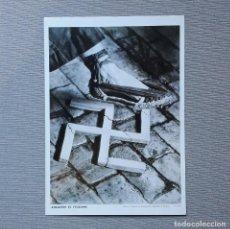 Coleccionismo de carteles: AIXAFEM EL FEIXISME - CARTELLS CATALANS DE LA GUERRA CIVIL. Lote 198194386