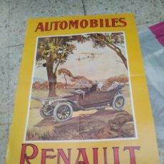 Coleccionismo de carteles: PÒSTER RENAULT. Lote 198393392