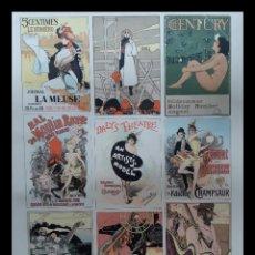 Coleccionismo de carteles: CARTELES ARTÍSTICOS MONTECARLO, PARÍS, ANÍS DEL MONO, NEW YORK.... Lote 201309827