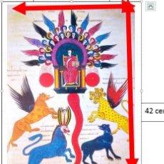 Coleccionismo de carteles: CARTEL COMENTARIO AL APOCALIPSIS DE LIÉBANA.. Lote 203995156