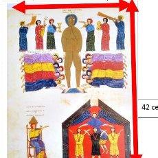 Coleccionismo de carteles: COMENTARIO AL APOCALIPSIS DEL BEATO DE LIEBANA.. Lote 203995530