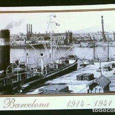 Coleccionismo de carteles: BARCELONA (CAPITAL) PUERTO - CARGA - (REPRODUCCIÓN) - DESDE ALMACÉN DEPÓSITO BARCELONETA. Lote 206400861