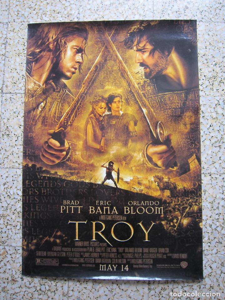 POSTER - CINE - TROY (TROYA) - 2006 - EDICIÓN U.S.A. - CARTEL (Coleccionismo - Reproducciones de carteles)