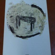 Coleccionismo de carteles: SANTI MOIX - NEW YORK,OTOÑO OCHENTA Y SEIS - POSTER - MAMA GRAF.. Lote 209069453