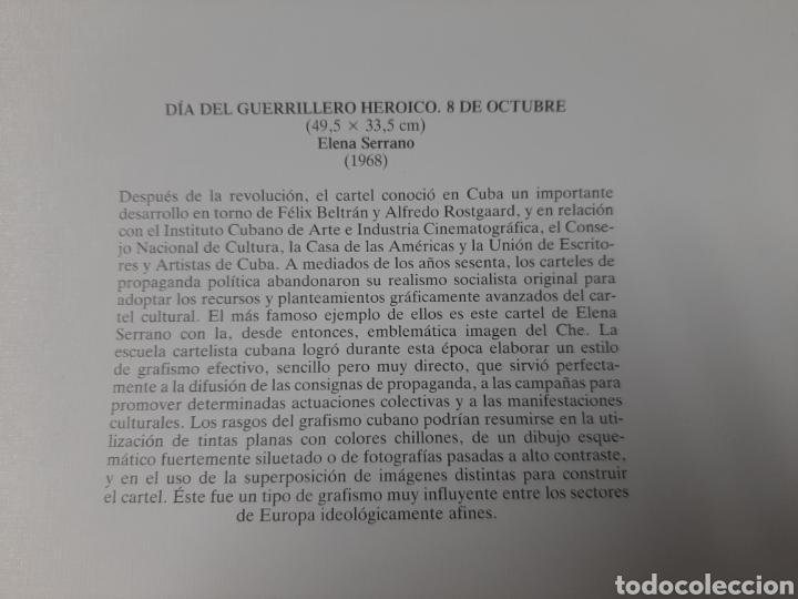 Coleccionismo de carteles: CARTEL ÉPOCA POSTER PUBLICIDAD FACSIMIL 45CMX29CM DIA DEL GUERRILLERO HEROICO .- ELENA SERRANO 1968 - Foto 2 - 99028163