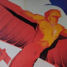 Collectionnisme d'affiches: REPRODUCCIÓN DE CARTEL LOOR A LOS HEROES CNT GUERRA CIVIL DE ARTURO BALLESTER EXPOSICIÓN LA CAIXA. Lote 210077145