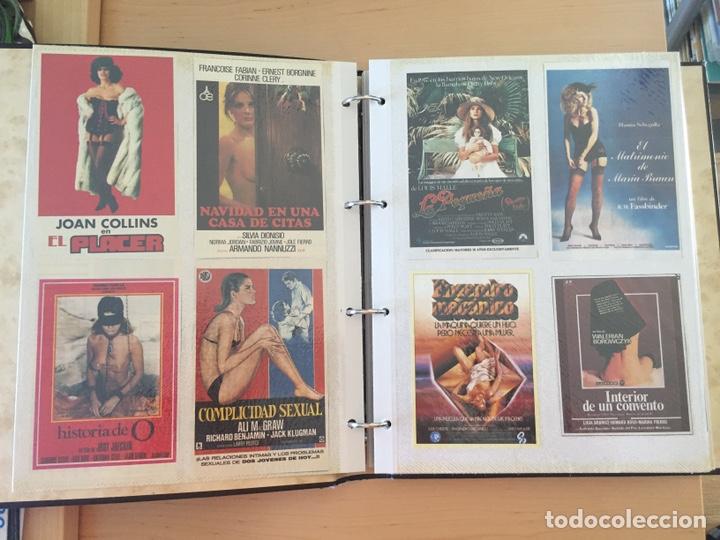 Coleccionismo de carteles: ÁLBUM DE PROGRAMAS FOLLETOS DE CINE PELÍCULAS RECORTES DE REVISTAS. Ver 31 fotos. - Foto 3 - 212670453