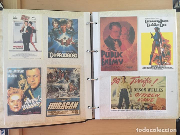 Coleccionismo de carteles: ÁLBUM DE PROGRAMAS FOLLETOS DE CINE PELÍCULAS RECORTES DE REVISTAS. Ver 31 fotos. - Foto 4 - 212670453