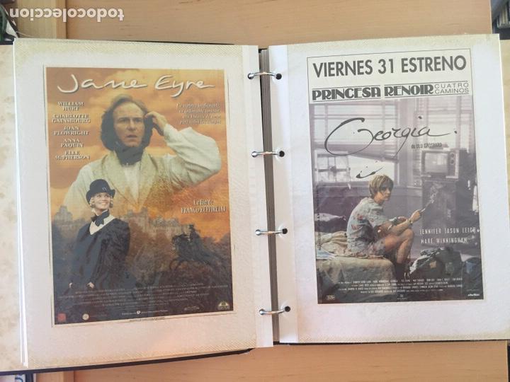 Coleccionismo de carteles: ÁLBUM DE PROGRAMAS FOLLETOS DE CINE PELÍCULAS RECORTES DE REVISTAS. Ver 31 fotos. - Foto 9 - 212670453