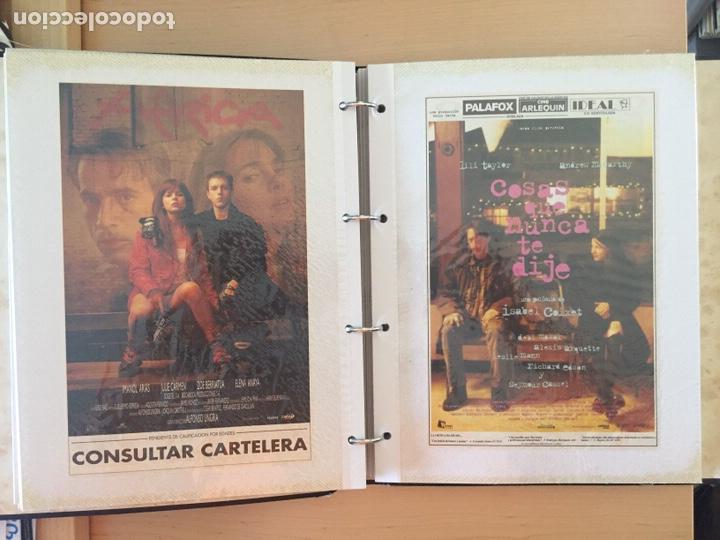 Coleccionismo de carteles: ÁLBUM DE PROGRAMAS FOLLETOS DE CINE PELÍCULAS RECORTES DE REVISTAS. Ver 31 fotos. - Foto 10 - 212670453