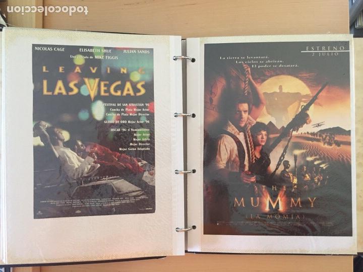 Coleccionismo de carteles: ÁLBUM DE PROGRAMAS FOLLETOS DE CINE PELÍCULAS RECORTES DE REVISTAS. Ver 31 fotos. - Foto 11 - 212670453