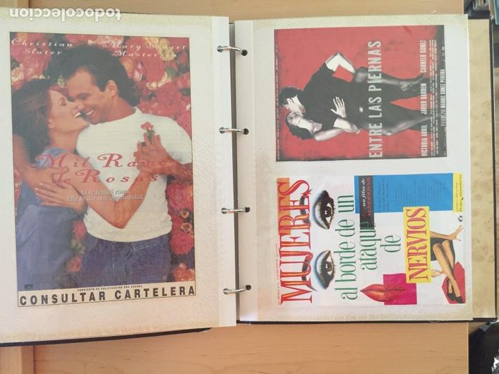 Coleccionismo de carteles: ÁLBUM DE PROGRAMAS FOLLETOS DE CINE PELÍCULAS RECORTES DE REVISTAS. Ver 31 fotos. - Foto 12 - 212670453