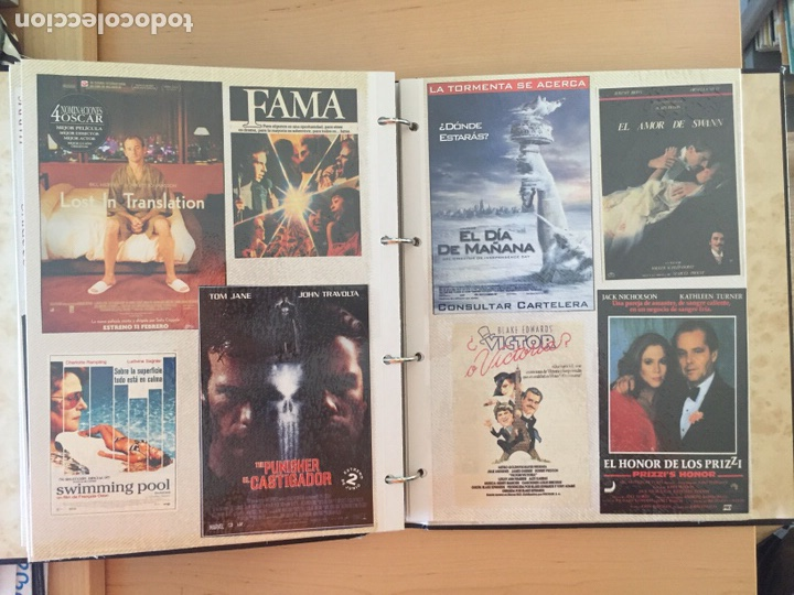 Coleccionismo de carteles: ÁLBUM DE PROGRAMAS FOLLETOS DE CINE PELÍCULAS RECORTES DE REVISTAS. Ver 31 fotos. - Foto 16 - 212670453