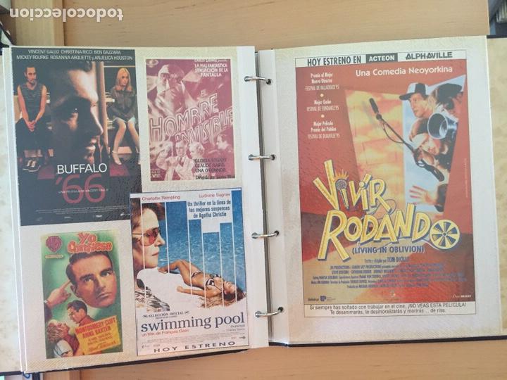 Coleccionismo de carteles: ÁLBUM DE PROGRAMAS FOLLETOS DE CINE PELÍCULAS RECORTES DE REVISTAS. Ver 31 fotos. - Foto 17 - 212670453