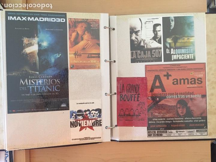 Coleccionismo de carteles: ÁLBUM DE PROGRAMAS FOLLETOS DE CINE PELÍCULAS RECORTES DE REVISTAS. Ver 31 fotos. - Foto 19 - 212670453