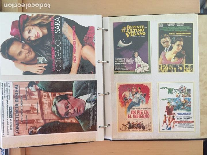 Coleccionismo de carteles: ÁLBUM DE PROGRAMAS FOLLETOS DE CINE PELÍCULAS RECORTES DE REVISTAS. Ver 31 fotos. - Foto 20 - 212670453