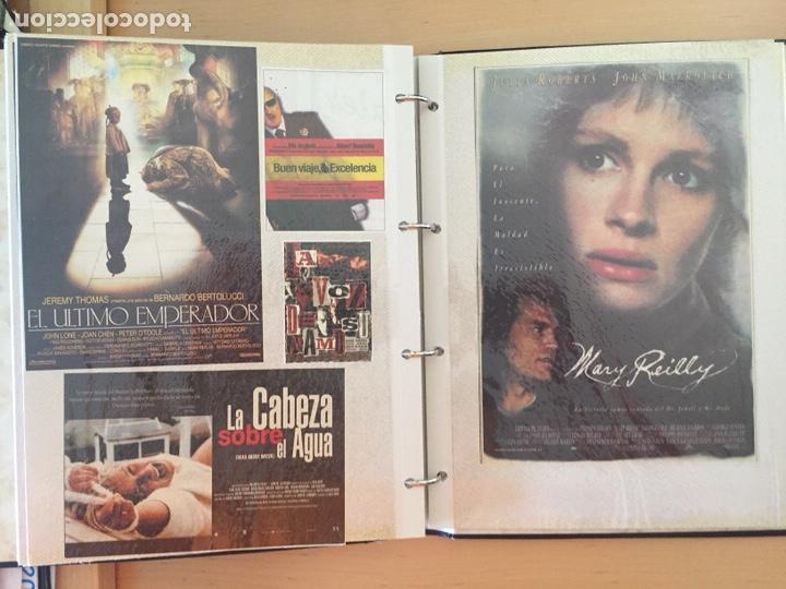 Coleccionismo de carteles: ÁLBUM DE PROGRAMAS FOLLETOS DE CINE PELÍCULAS RECORTES DE REVISTAS. Ver 31 fotos. - Foto 22 - 212670453
