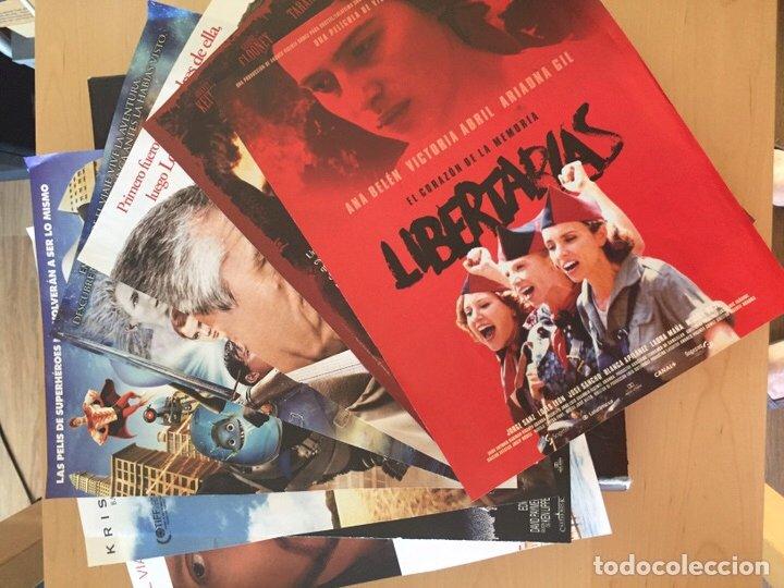 Coleccionismo de carteles: ÁLBUM DE PROGRAMAS FOLLETOS DE CINE PELÍCULAS RECORTES DE REVISTAS. Ver 31 fotos. - Foto 31 - 212670453
