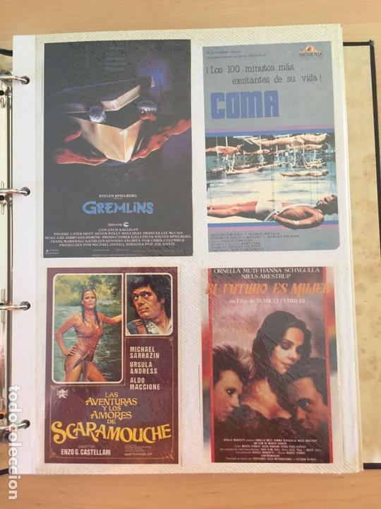 ÁLBUM DE PROGRAMAS FOLLETOS DE CINE PELÍCULAS RECORTES DE REVISTAS. VER 31 FOTOS. (Coleccionismo - Reproducciones de carteles)