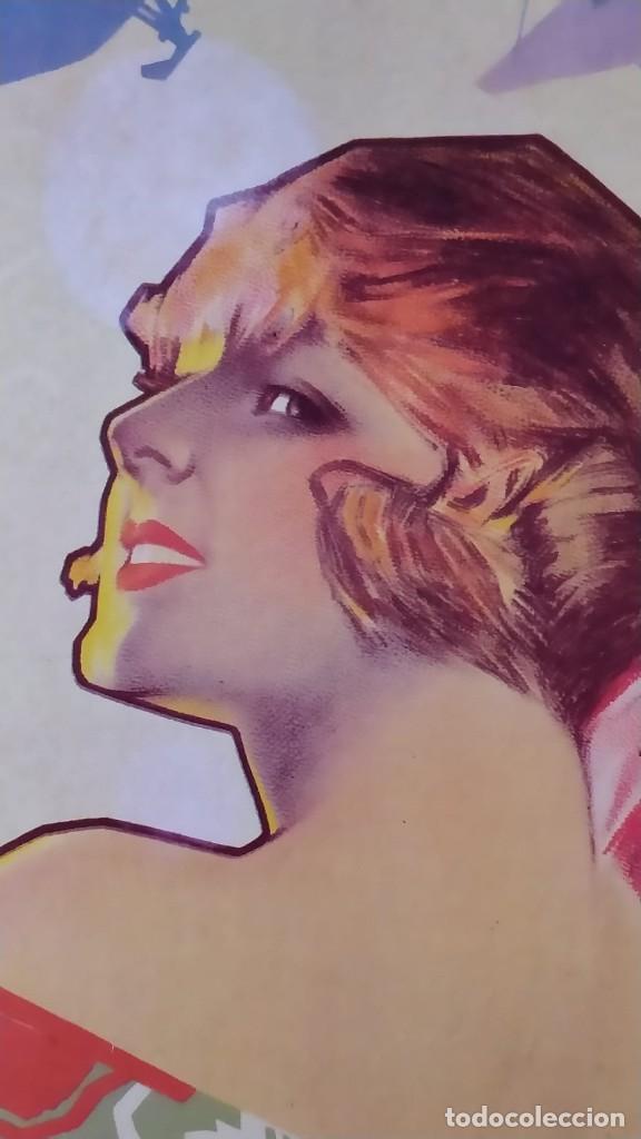 Coleccionismo de carteles: Reproducción de Cartel EL AS Papel de fumar del artista Arturo Ballester exposición La Caixa 1986 - Foto 4 - 213020012